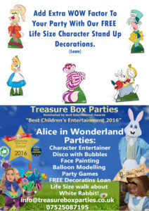 Alice Wonderland Childrens Entertainer Hampshire Berkshire Surrey