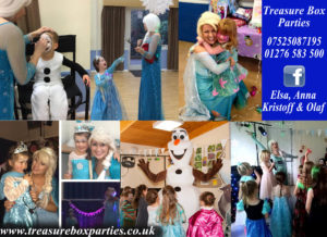 Frozen Party Childrens Entertainer Hampshire Berkshire Surrey