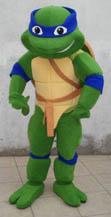 Ninja turtle mascot costume