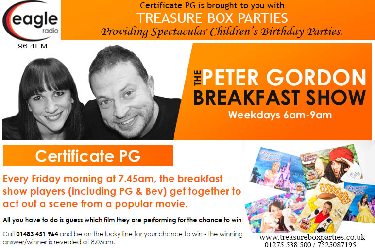 Proud Sponsors of The Peter Gordon Breakfast Show - Childrens Party Entertainers