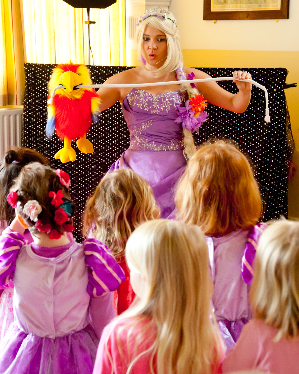 Princess Parties with Magic and Disco