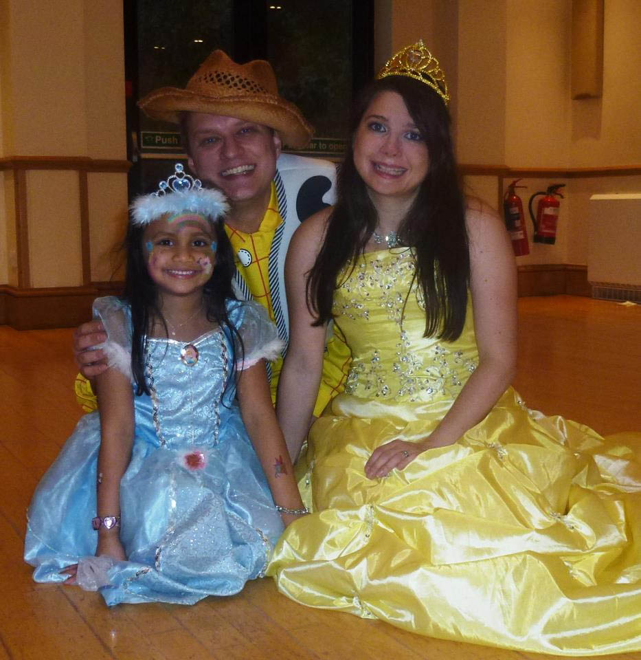 princess party toy story entertainers