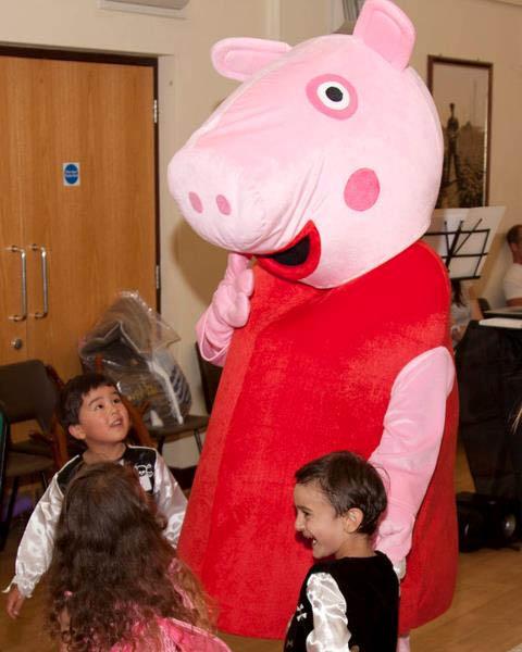 Mascot Costume Hire, Pigs, Minions, Snowman