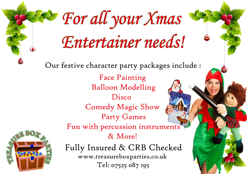 christmas party entertainers childrens entertainer parties surrey
