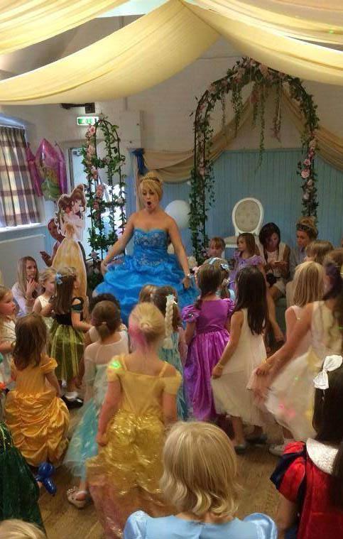 Singing with Cinderella
