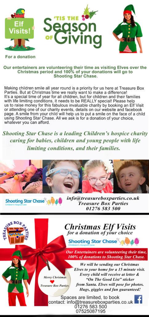 Charity Christmas Elf Visits 3