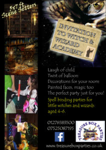 Witch Wizard Harry Potter Childrens Entertainer Hampshire Berkshire Surrey