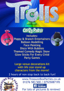 Trolls Childrens Entertainer Hampshire Berkshire Surrey