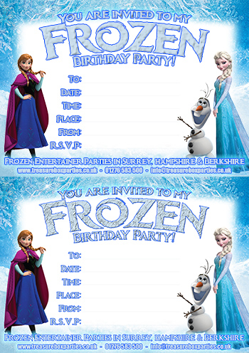 It's just a photo of Exceptional Frozen Invites Printable