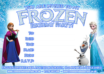 picture relating to Printable Frozen Birthday Invitations named Free of charge Frozen Downloads Printable Social gathering Invites