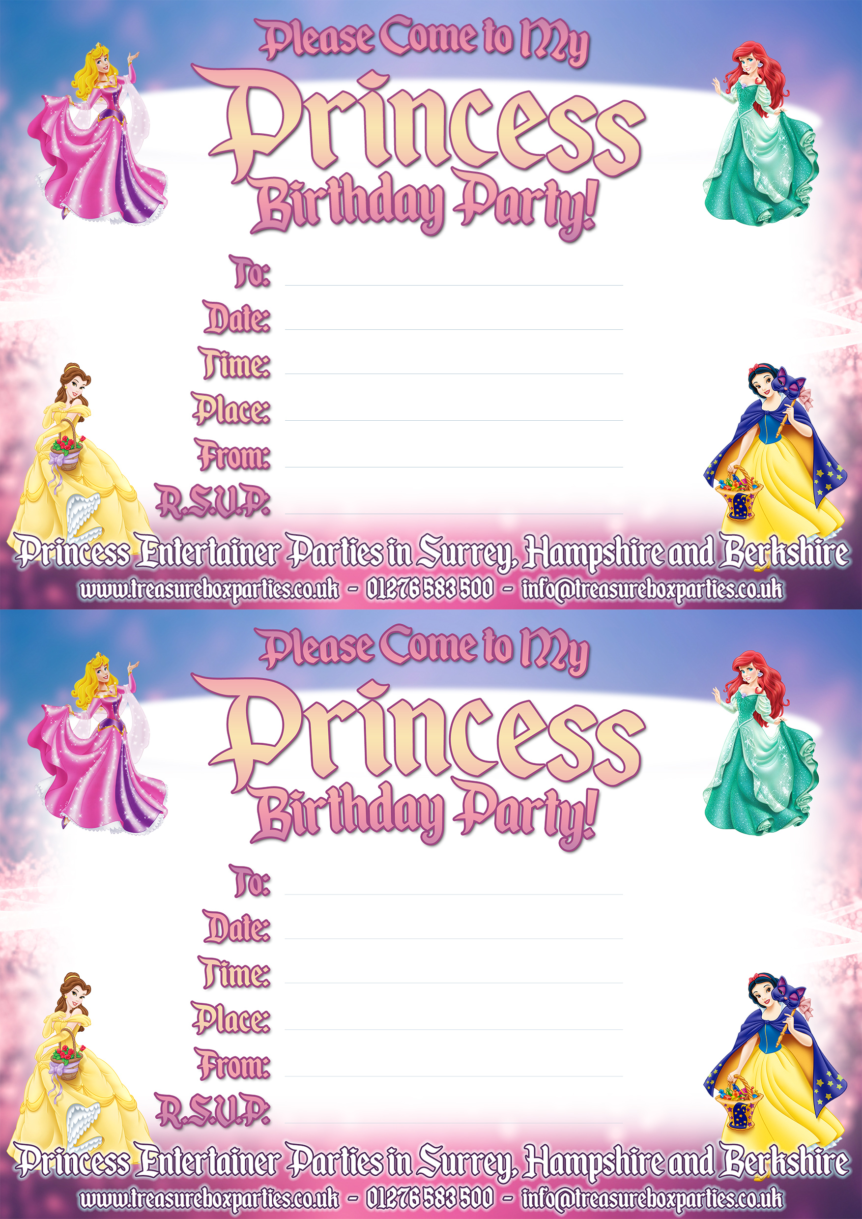 Disney Princess Downloads - Childrens Entertainer Parties Surrey ...