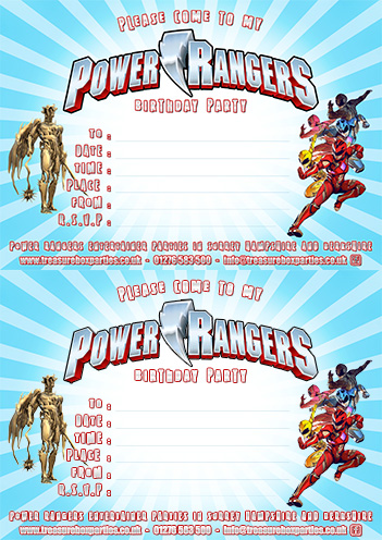 Power Rangers Downloads Childrens Entertainer Parties