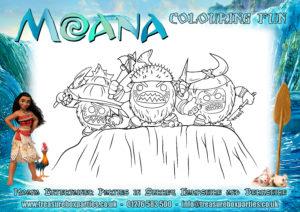 Moana - Colouring Sheet 03