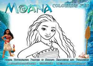 Moana - Colouring Sheet 04