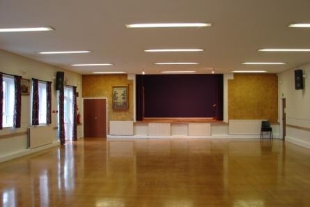 sandhurst community hall address postcode hire information childrens parties
