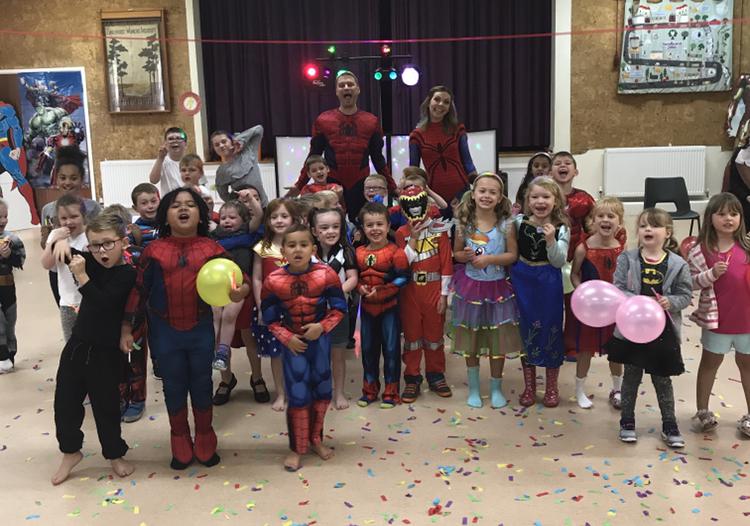 superhero party sandhurst childrens entertainer