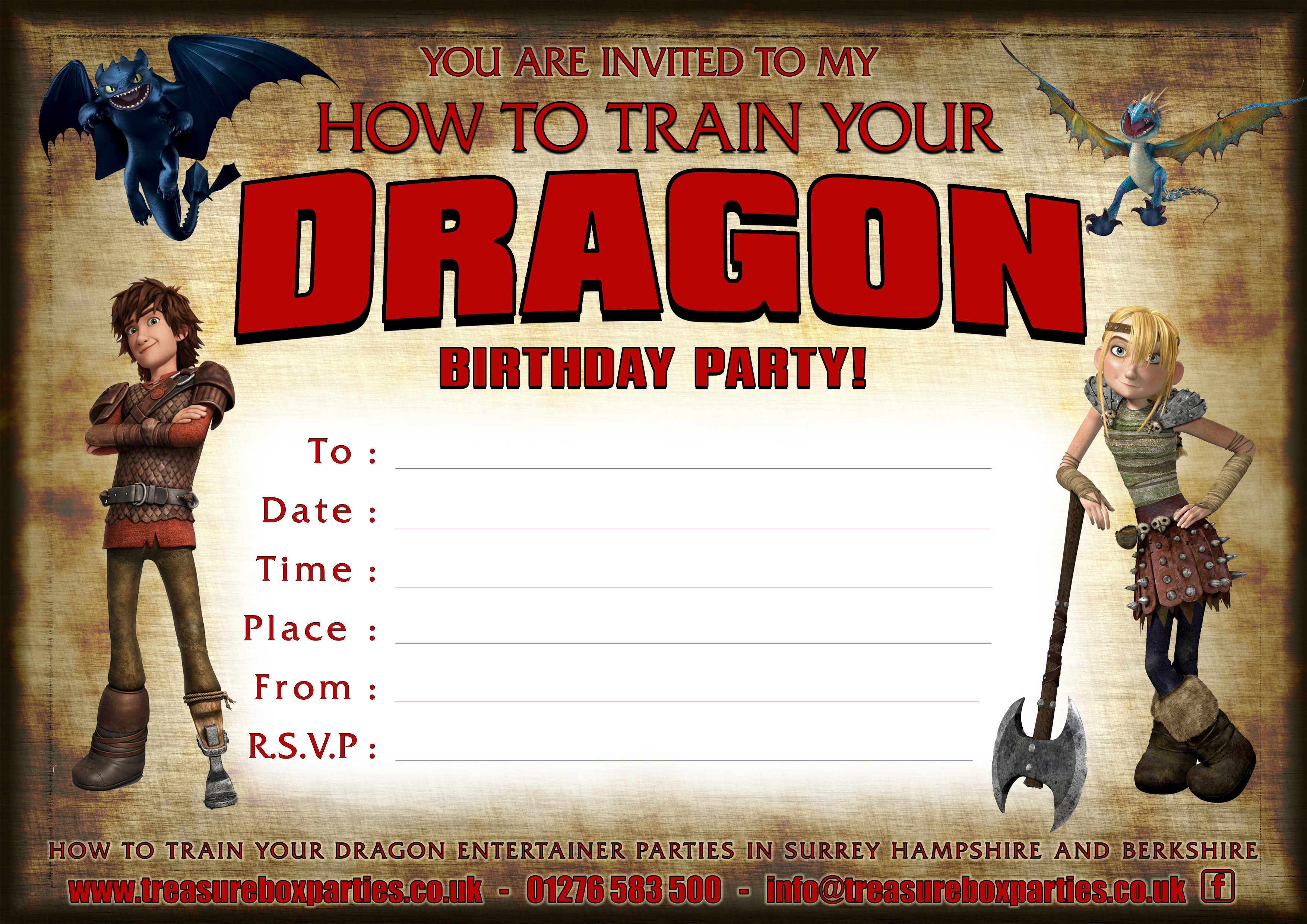 Free How To Train Your Dragon Downloads Childrens Entertainer Parties Surrey Berkshire Hampshire Treasure Box Parties Supplies Kids Party Games Ideas