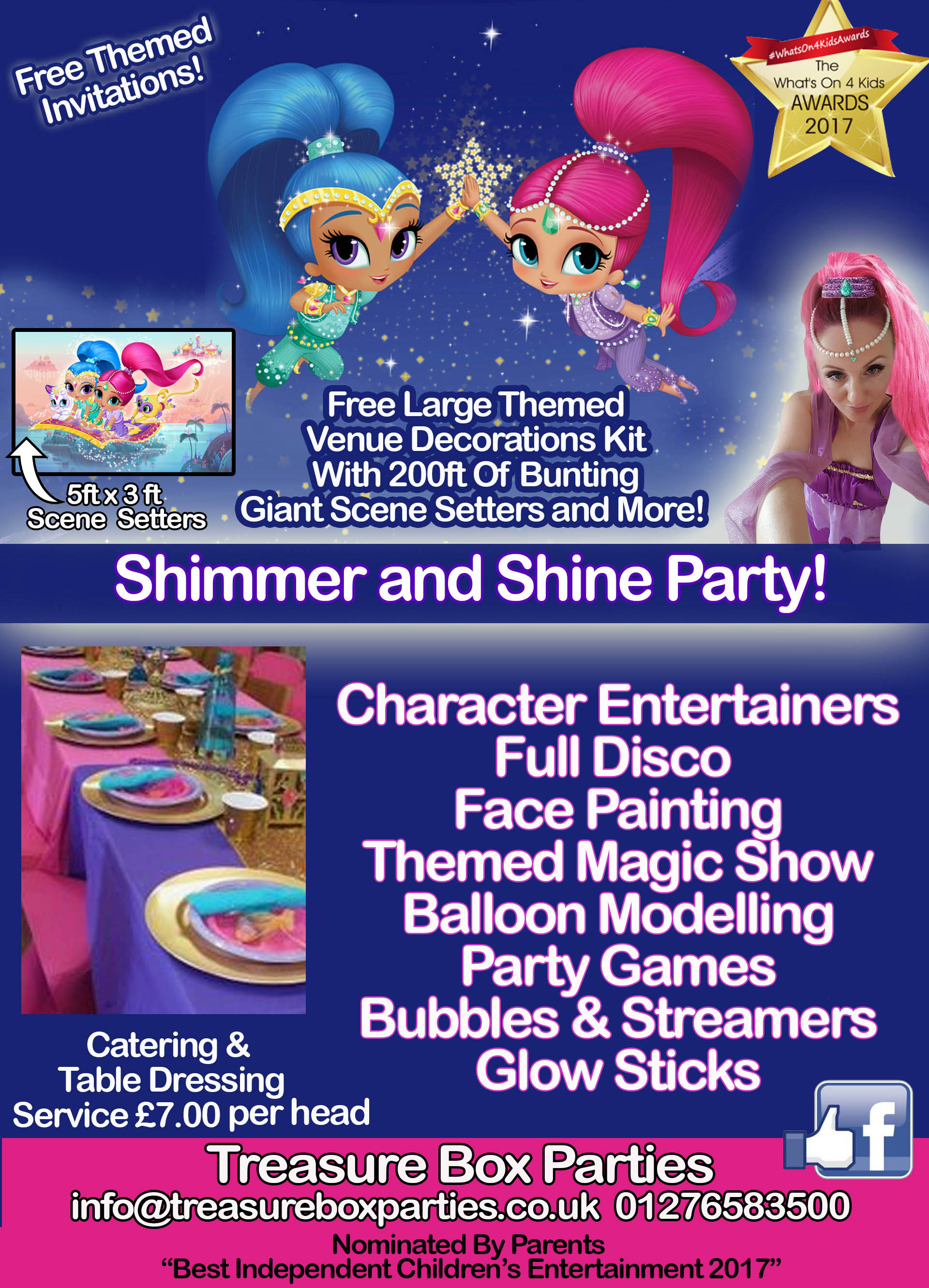 Shimmer And Shine Wall Decorations