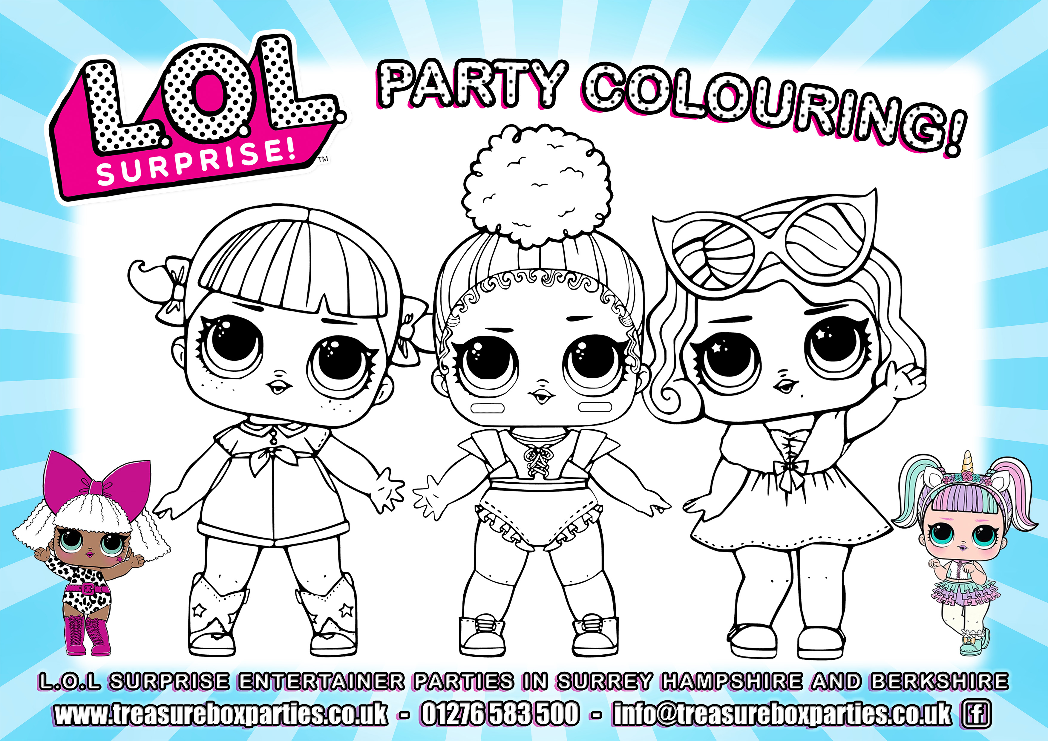 LOL Party Downloads - Childrens Entertainer Parties Surrey