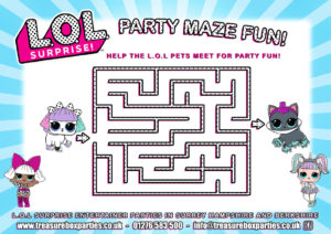 LOL dolls - Party Maze