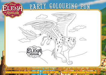 Elena Of Avalor Free Birthday Party Downloads Childrens
